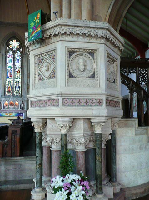 st.mary's new church stoke newington, london