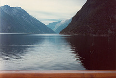 Sognefjord and glacier in Norway