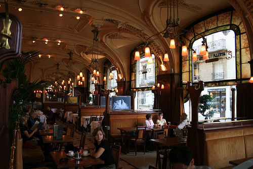 Coffee At L'Excelsior