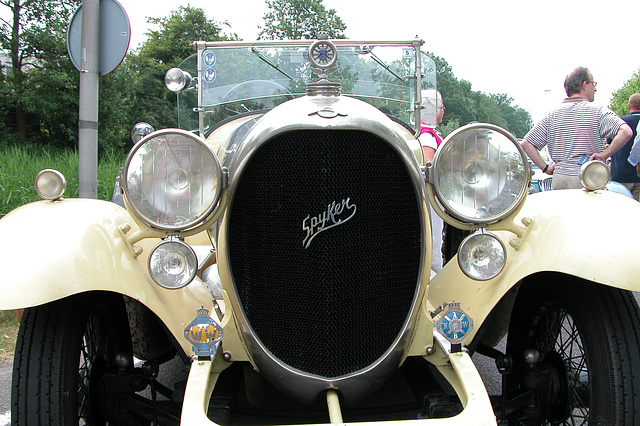 National Oldtimer Day in Holland: 1921 Spyker C4