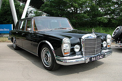 National Oldtimer Day in the Netherlands: 1966 Mercedes-Benz 600