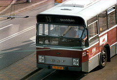 Old Dutch city bus in the Hague (HTM 352)