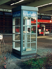 1930s Dutch telephone booth