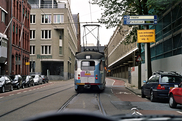 Old PCC tram in the Hague