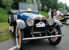 National Oldtimer Day in Holland: 1918 Moline Knight