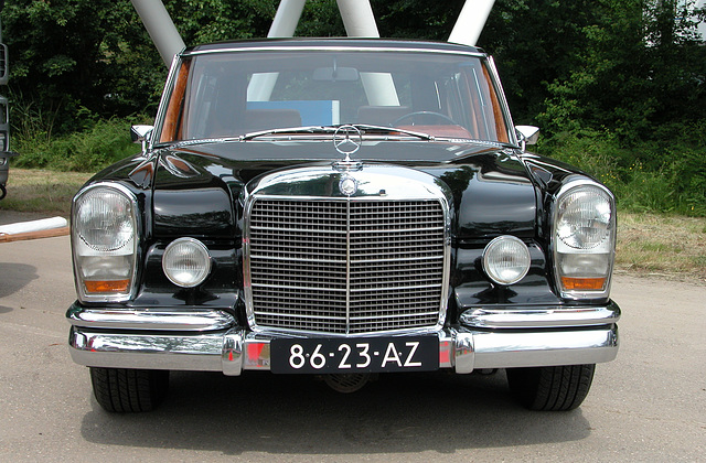 Mercs at the National Oldtimer Day: 1966 Mercedes-Benz 600