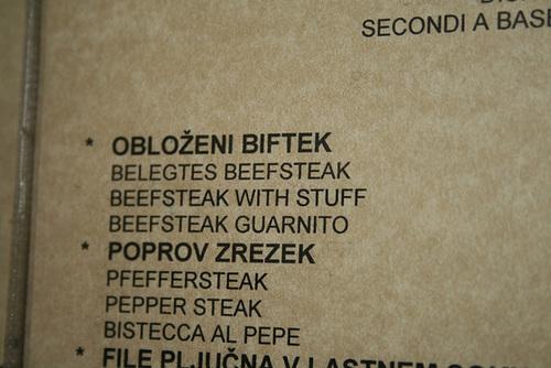 Beefsteak With Stuff