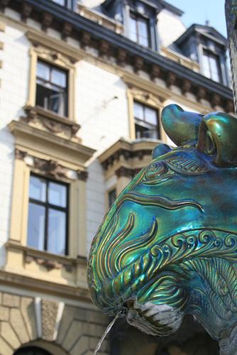 Porcelain Fountain in Pécs