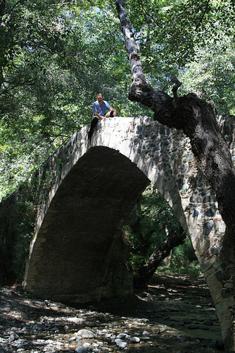A Venetian Bridge in Cyprus
