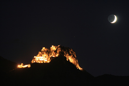 St Hilarion At Night
