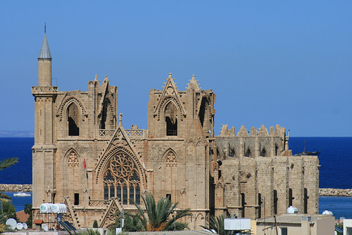 Looking Across Famagusta