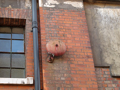 Rusty red bell