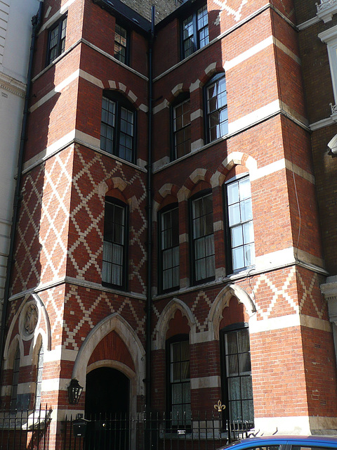 st.michael's rectory, burleigh st., london