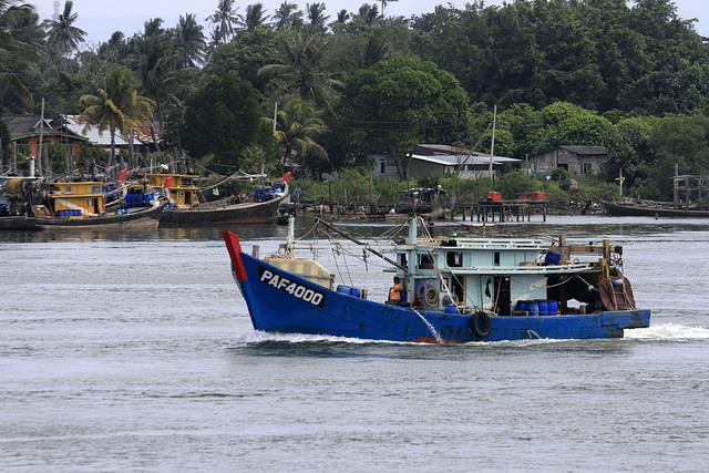 Mersing Fishing Boat