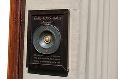 Karl Marx House bell