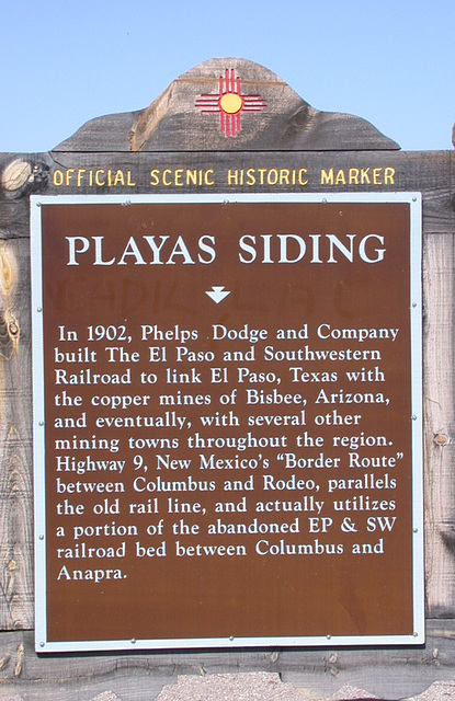 Playas Siding, NM N4176a