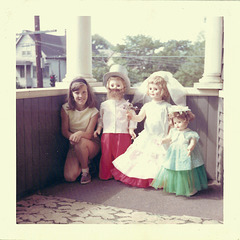 Me with Dolls, 1964