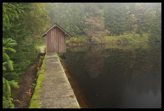Le barrage du Glaswaldsee Forêt-Noire