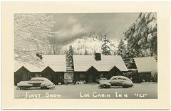 First Snow, Log Cabin Inn