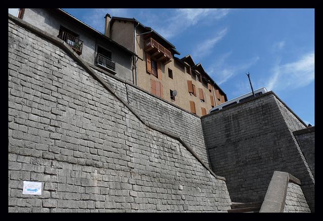 Les murs de Briançon