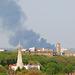 Smoke over East London