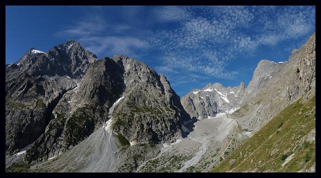 Panorama Glacier noir Ailefroide