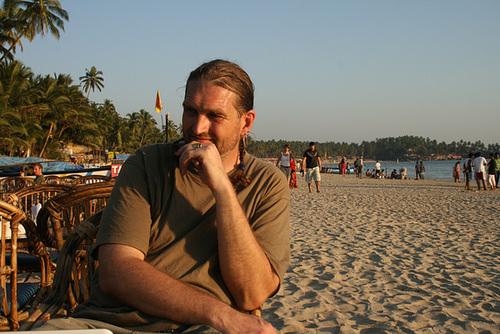 Me On A Beach