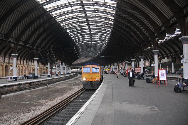 York Station Yorkshire May 2013