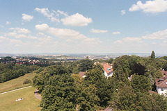 View from the Bismarck tower in Stuttgart