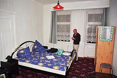 Hotel room in Pension Diana in Dresden