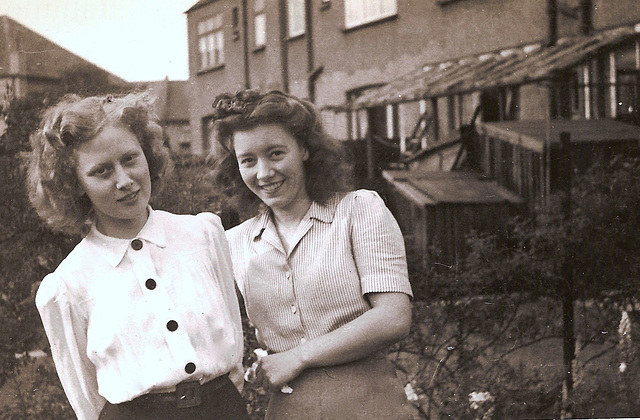 My Mother and Her Best Friend, 1945
