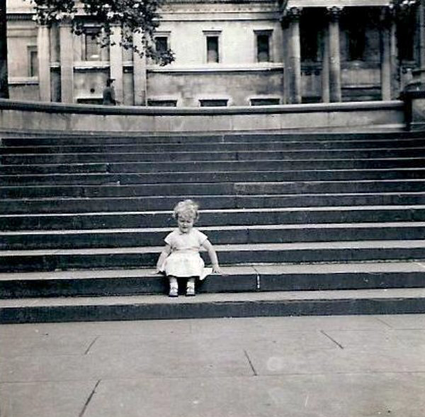 Trafalgar Square, 1956
