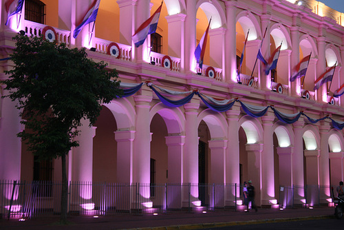 Arches in Downtown Asunción