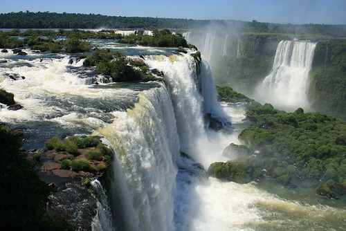 At the Rim, Brazilian Side of Iguassu