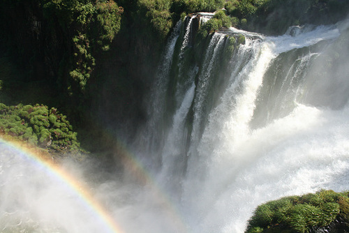 Rainbow at Iguassu