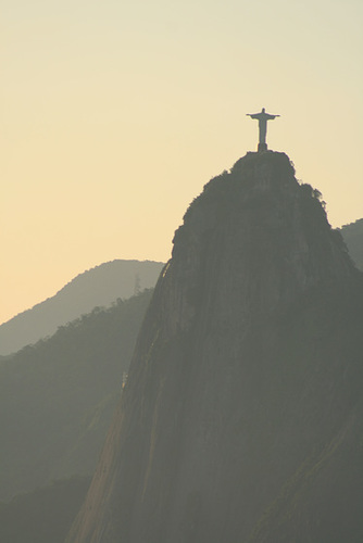 Big Jesus Watching Over Rio