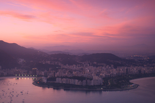 Sunset Over Rio