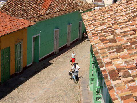 A Corner of Trinidad, Cuba