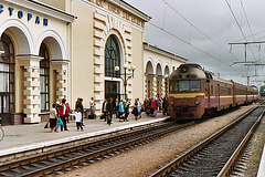 Kovel | Ковель station with train D1-731-1
