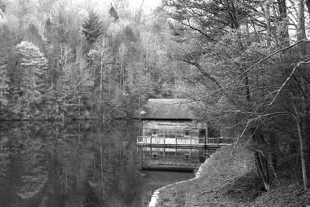 Boathouse, Lake Julia