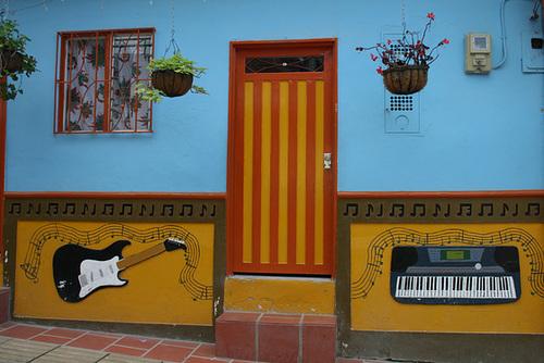 A Music Shop in Guatapé