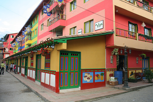 Colourful Apartment Buildings
