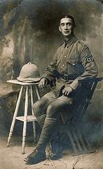 William Alfred Gregory, WW1 , C.O.
