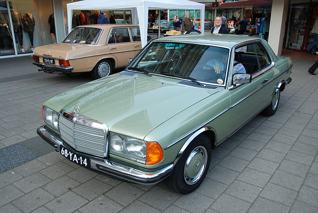 Mercedes-Benz 280 CE and 240 D 3.0