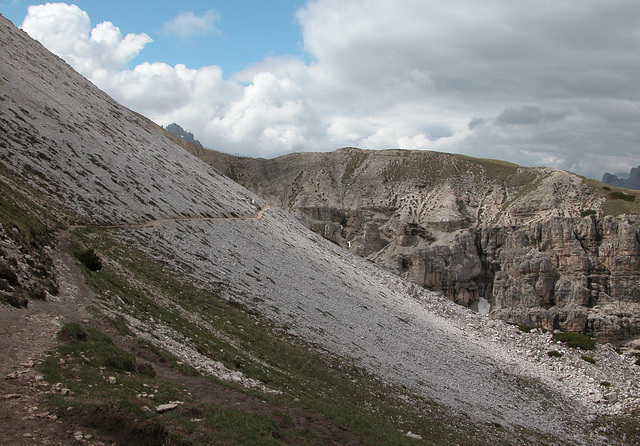 Holiday day 5: Walk around the Tre Cime (Drei Zinnen): the path I walked