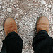 Holiday day 4: My Timberlands, essential for mountain walking