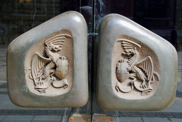 Dragon door handles