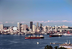Seattle Skyline, June 1980 (060°)