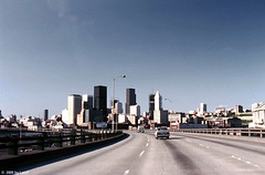 Seattle Skyline, June 1980 (000°)