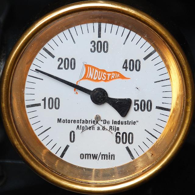 Industrie motorendag 2008: tachometer